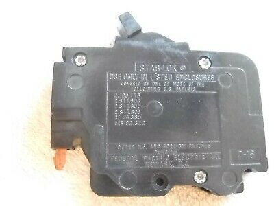 Fpe 15 Amp 1 Pole Stab-lok Type Nc Or Thin Federal Pacific Breakers