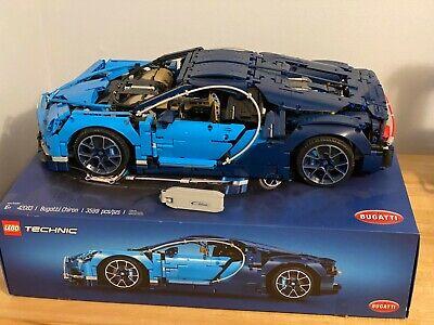 GENUINE LEGO Technic Bugatti Chiron 42083 Race Car COMPLETE
