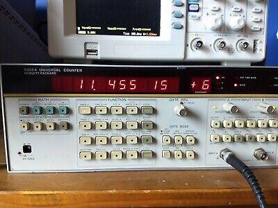 Hp 5335a Universal Counter - 200mhz Start Interpolator Issue Read Description