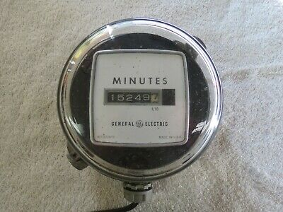 GE ELECTRIC METER MINUTE DIAL Steam Punk Accessories