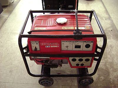 Honda Eb 5000x Generator -with Wheels