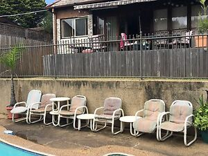 4x outdoor table and 6x chairs Burwood Heights Burwood Area Preview