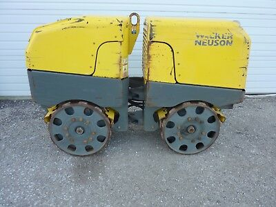 2013 Wacker Rt Trench Compactor Sheepsfoot Roller 582 Hours