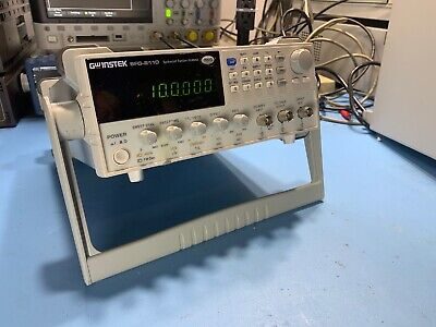 Gw Instek Sfg-2110 10mhz Synthesized Signal Generator Sweeper Used Tested