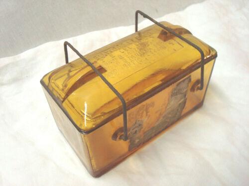 Antique 1893 J. Elwood Lee Co.Glass Medical Jar, Apothecary, Coshohocken PA. NR
