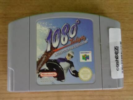 Nintendo 64 Game Cartridge - 1080 Snowboarding