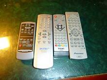 TV DVD STEREO Remote controls Semaphore Port Adelaide Area Preview