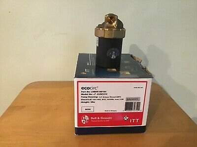 Bell Gossett Lhb08100104 Lf Brass Ecocirc Circulator Wmulti-speed 12npt