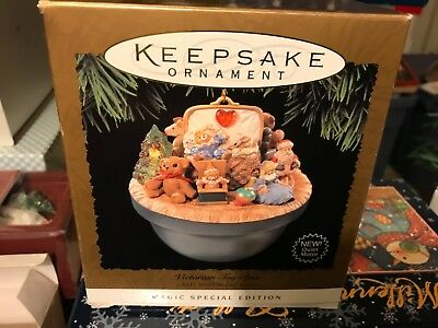 Hallmark Keepsake Ornament Victorian Toy Box - Light, Motion and Music