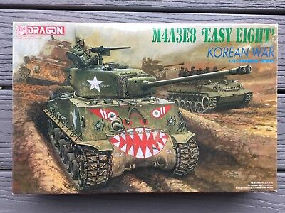 DRAGON 1/35 U.S. ARMY M4A3E8 EASY EIGHT SHERMAN TANK KOREAN WAR MODEL # 9009 F/S, used for sale  Milton