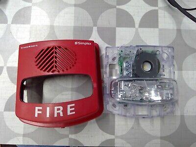Simplex 4906-9131 Weatherproof Hornstrobe Alarm -scuffed Free Shiping