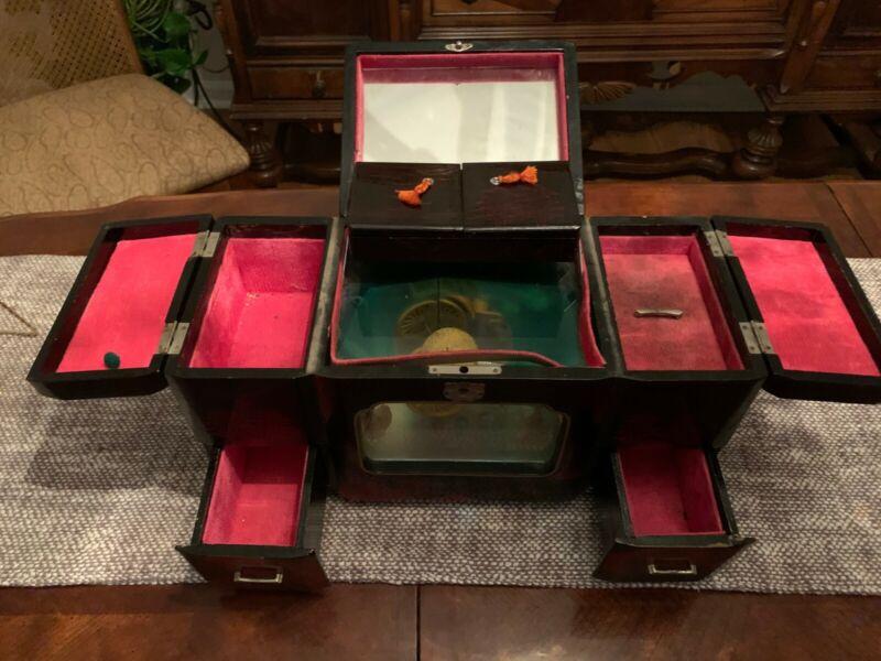 Vintage Japanese Music Jewelry Box
