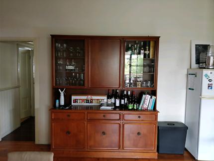 Dining cabinet buffet hutch wall unit | Cabinets | Gumtree Australia ...