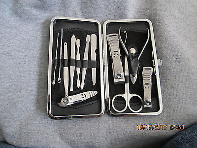 12 Piece Manicure and Pedicure Gromming Set Nail Care Clipper Kit New Manicure And Pedicure Kit