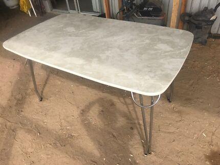retro marble laminex chrome dining kitchen table retro vintage 60s laminate laminex kitchen dining table 60s      rh   gumtree com au