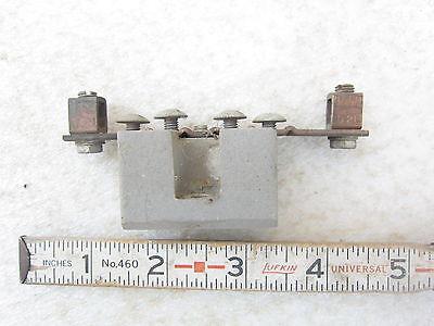 6-position Neutral Bar Kit W Ilsco D21 Lug Used