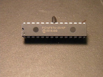 Microchip Pic16f876-20fp Flash