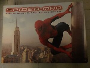 spider man limited addition collectors gift set