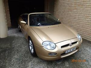 2002 M.G. MGF Coupe Gosford Gosford Area Preview