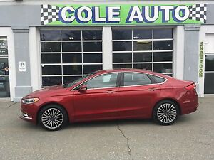 Wow!  Fully Loaded 2017 Ford Fusion AWD!
