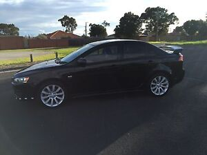 2008 Mitsubishi  Lancer VRX Fawkner Moreland Area Preview
