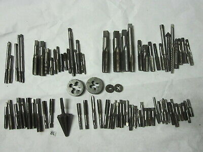 Tap Lot Die Bits Machinist Tool Amt D Co Card Craftsman Gtd Morse 916 38 Etc