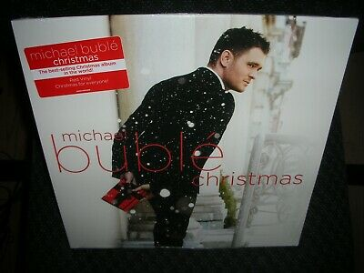 MICHAEL BUBLE **Christmas **BRAND NEW SEALED RED COLORED RECORD LP VINYL!!