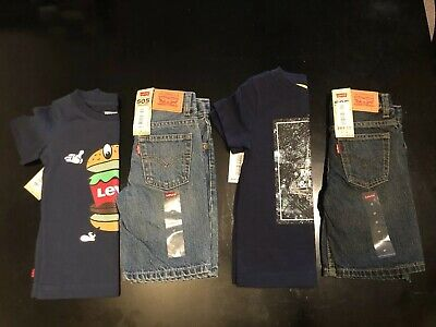 Boys Clothes Size 3T Levis Outfit New (3t 3 Boys Clothes)