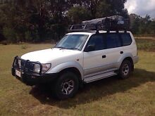 1997 Toyota Landcruiser Prado GXL with rooftoptent, fully equipped Canyonleigh Bowral Area Preview