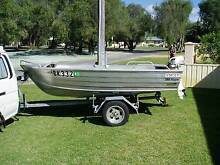 3.8m STACER DINGHY WITH 15hp JOHNSON 2 STROKE Busselton Busselton Area Preview