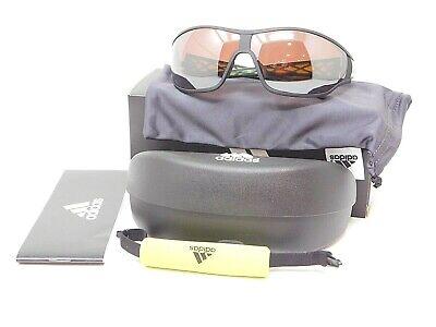 NEW ADIDAS  TYCANE PRO L A 189/00 6051 Sunglasses- Matte Black/ Lablime PO (Sunglasses Adidas)