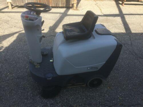 USED Advance Terra 3700B Rider Floor Sweeper
