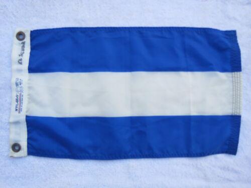 11 X 20 NYLON FLAG YACHT CLUB SAILBOAT SHIP BOAT SIGNAL (C2.5B2729)