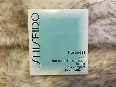 SHISEIDO Mattifying Pureness Oil-Free Compact Case with Mirror NEW IN BOX