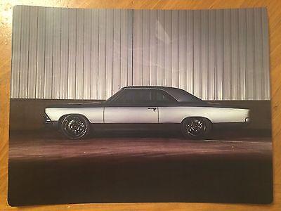 Tin Sign Vintage Metal 1966 Chevrolet Chevy Chevelle