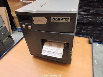 """SATO CL408E Parallel Thermo Label Drucker REWINDER 203dpi 4.1"""" 104mm - 19677.3 M"""
