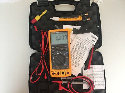 Excellent Fluke 789 Process Meter With Leads Storage Case And More Sn23230100