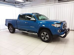 2017 Toyota Tacoma LIMITED 4X4 V6 DOUBLE CAB, INCLUDES LIKE NEW