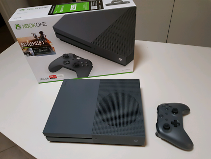 *AS NEW* Xbox One S (Storm Grey Special Limited Edition)