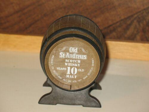 Old St. Andrews Whisky Barrel Malt Scotch Whisky Miniature