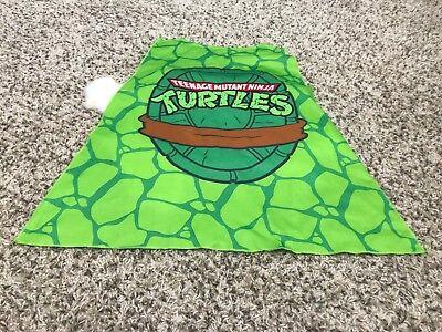 Unbranded Junge Teenage Mutant Ninja Turtles Grafik Kostüm Umhang Grün ()