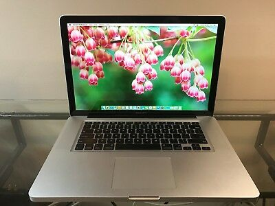 Apple MacBook Pro 15 PRE-RETINA UPGRADED 8GB RAM 1TB SSD HYB ~ 1 YEAR WARRANTY
