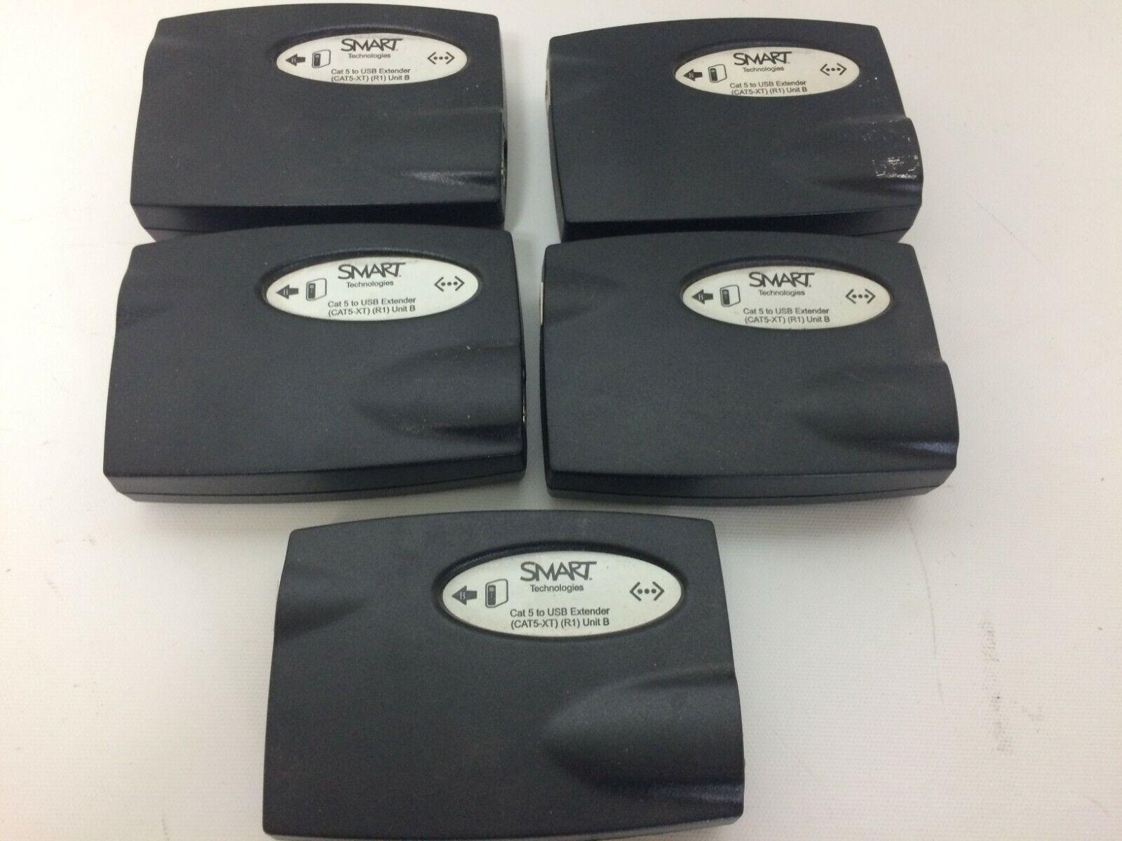 Lot of 5 Smart Technologies CAT 5 to USB Extenders (CAT5-XT) (R1) Unit B