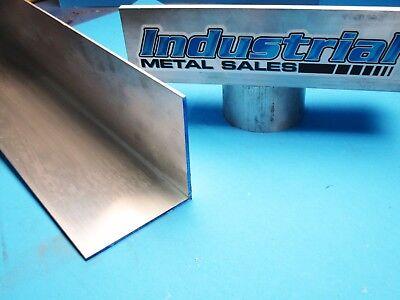 4 X 4 X 6 Long X 18 Thick 6063 T52 Aluminum Angle--4 X 4 X 18 Angle