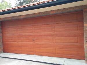 Double Garage Remote Control Panel Lift Door Springwood Blue Mountains Preview