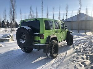 2012 Jeep Jk Wrangler Rubicon Unlimited, Loaded Leather