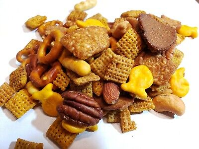 Chex Trail Mix (Captain's Trail Mix: MUCH Bolder Chex-Mix Flavor, w/ Cashews, Almonds,)