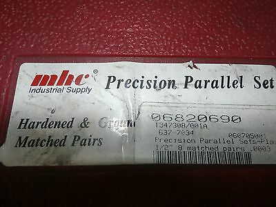Mhc Precision Parallel Set 637-7034 8 Pairs 78 To 1-34