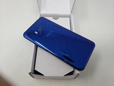 HTC U11 - 64GB - Sapphire Blue (GSM Unlocked) Smartphone - Preowned.