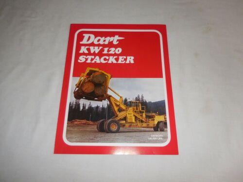 1976 DART MODEL KW 120 LOG STACKER SALES BROCHURE